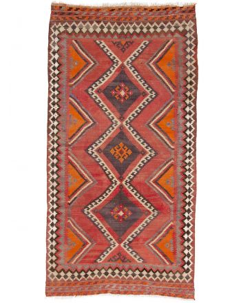 Vloerkleed Plat Geweven Kilim Shirazi